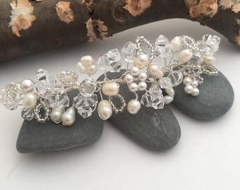 Bridal Hair Accessory - Brides Hair Accessory  - Silver - Rose Gold - Gold