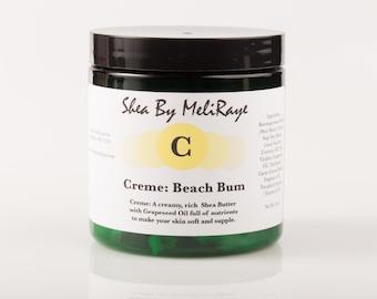 Creme: Beach Bum Whipped Shea Butter