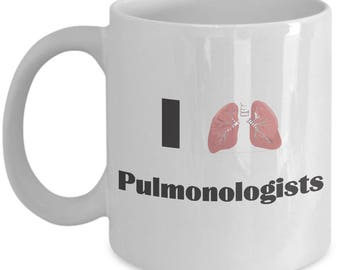 I love Pulmanology - Gift for Lung Doctor Mug