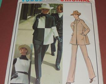Vogue Paris Original GIVENCHY Vogue 2668 UNCUT sz 10 includes Fabric Label