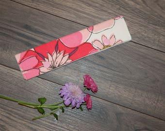 Pink Floral DPN Holder