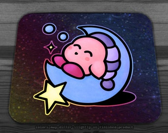 Kirby Sleep Mousepad