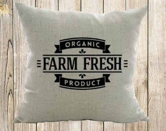 Farm Fresh Pillow Case
