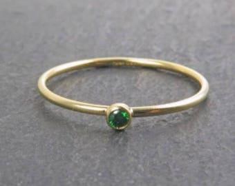 Anillo Green Zirconia