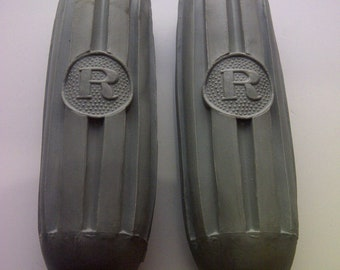 1 Pair Bicycle Handlebar Grips R Grey Fit Raleigh Rudge Humber Free Shipping