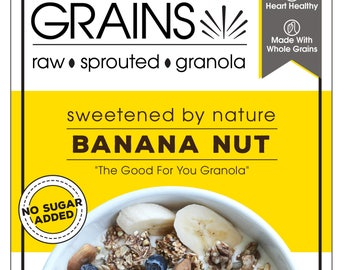 Banana Nut Sprouted Granola
