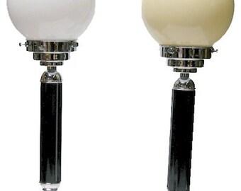 Art Deco English Bakelite Table Lamps