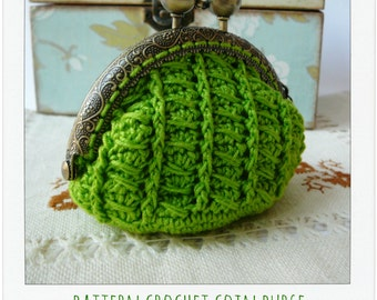 PATTERN Crochet Coin Purse {Model nº 13}