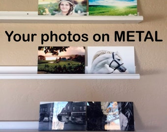 Personalized, Custom, Metal photo panel, aluminum photo, wall display, fine art, chroma luxe