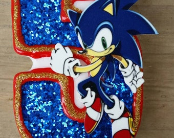 Sonic Birthday candle