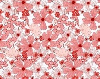 Garden Delights, Poppy, Coral