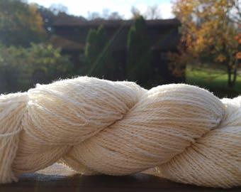 Millspun Yarn, 5 yard sample skein, Tunis, Free US Shipping