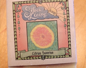 Citrus Sunrise Organic Soap