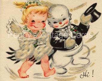 380 Vintage Christmas Greeting Card Images on CD Vol 7