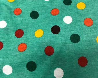 NEW-Knit-POLKA DOTS-Blanket Sleeper Sleep Sack-12-24 M-Custom-Handmade