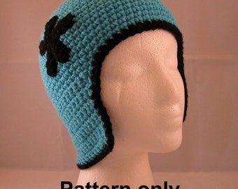 PATTERN:  Flapper hat with Flower - Adult