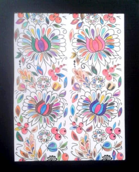 Pretty flower pattern description lovely picture of a flower pattern mightylinksfo