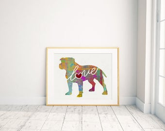 Colorful Prints: Pets