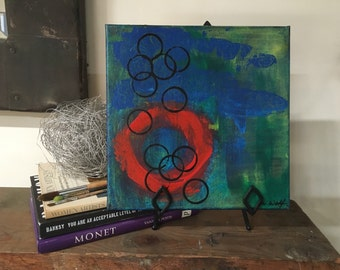 Body of love original abstract painting