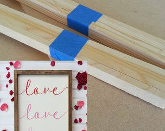 "Kit for cursive love love love Sign - 14"" x 18"""