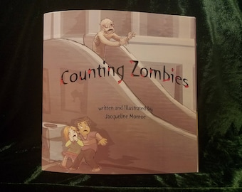 Counting Zombies Children's Book