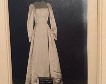 1950 Vintage Wedding dress