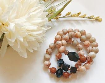EMILY -3 piece bracelet stack set