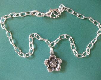 Wildflower Ankle Bracelet