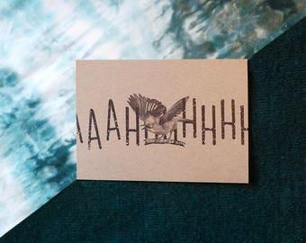 Ahhh - A6 Postcard Print