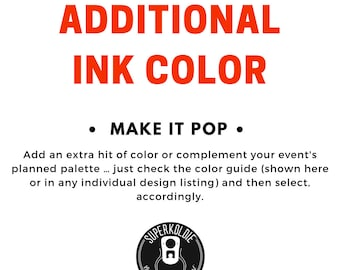 Additional Ink Color