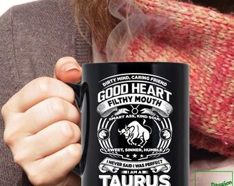 Taurus Mug, Taurus Zodiac Mug, Taurus Astrology Mug, Taurus Astrology Birthday Gift, Taurus Zodiac Sign, Taurus Horoscope Astrology, TP5003M