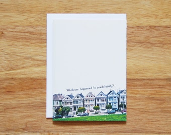 Full House Greeting Card
