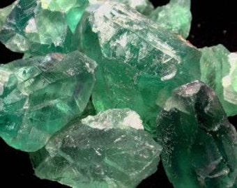 Bulk Crystals 10 Green Fluorite / Healing Crystals and Stones