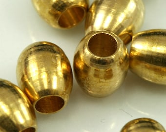 15 Pcs Raw Brass Cylinder 5,5x6 mm (hole 3 mm) industrial brass Charms,Pendant,Findings spacer bead bab3 1522