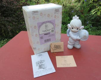 """Vintage Enesco Precious Moments """"The Club That's Out Of This World"""" #C0012 in Box 1991"""