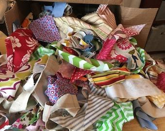 Fabric Scrap Fabric Grab Bag Fabric Scraps Variety Fabrics Craft Fabrics Scrapbooking Supplies Art|Crafting Supplies Doll Clothing Supplies