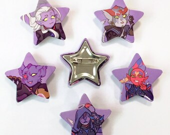 VLD - Galra Button Pack