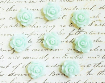 Push Pins - Decorative Push Pins - Office Supplies - Office Accessories - Message and Bulletin Boards - Office Decor - Seafoam Green