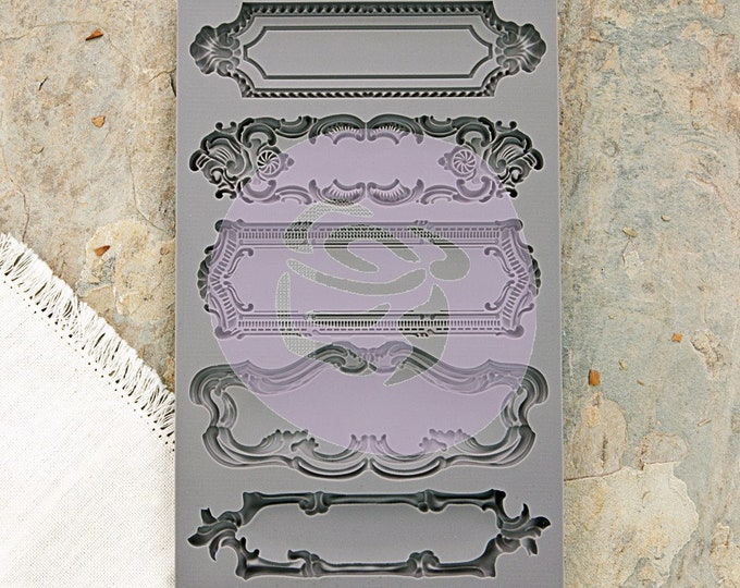 Iron Orchid Designs - Object Labels I - Moulds
