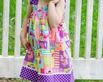 Michael Miller  Fairy Dress (18 mos, 2T,  3T, 4T, 5, 6, 7, 8, 10)