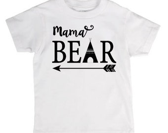 Momma Bear Shirt Mother's Day Gift Momma, Sister, Aunt