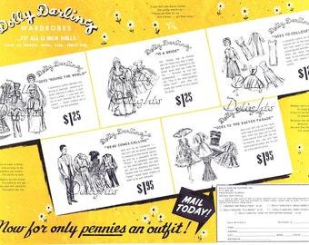 Dolly Darling Pattern Series For Vintage Barbie On CD
