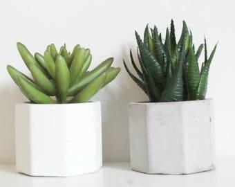 Set of 5/FREE SHIPPING/Tea light candle Holder/Air Plant Holder/Succulent Planter/Gray Planters/Wedding Favor/Home Decor/Concrete planters