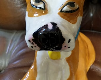 Have your dog or cat made in pottery!