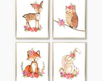 Baby Gift Set. Baby Girl Gift. Printable Baby Gift. Gift for Baby Girls. Nursery Art Printables. Instant Download Nursery Art. Nursery Art.