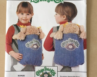 Cabbage Patch Kids - Butterick #6662 Cabbage Patch Kids Carrier