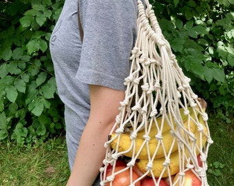 Eco-Friendly Drawstring Produce/Market Bag