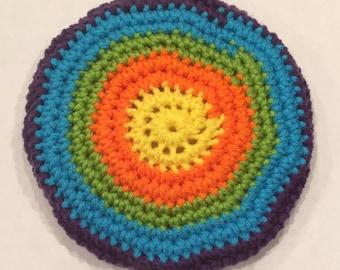 Colorful Flying Pocket Disc
