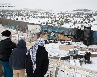 From a Rooftop in Aida Refugee Camp
