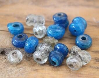 perles ancien en verre fait main